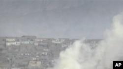 탈레반의 공격을 받은 아프간 카불의 미국 대사관과 나토 본부