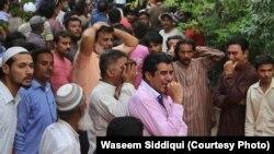 امجد صابری، جائے وقوع اور رہائش گاہ کی تصویری جھلکیاں