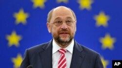 Martin Schultz, président du Parlement européen, le 1er juillet 2014