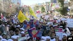 Pro-vladini demonstranti u Iranu