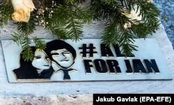 Počivalište ubijenog slovačkog novinara Jana Kuciaka na gorblju Stiavnik; 20. februar 2019.