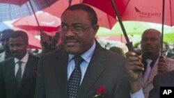 Phó Thủ tướng Hailemariam Desalegne đã lên nắm quyền Thủ tướng Ethiopia sau khi Thủ tướng Meles Zenawi qua đời