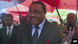 Primeiro ministro em exercício Hailemariam Desalegne