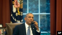 Wednesday, Sept. 10, 2014, ahead of his address to the nation tonight regard