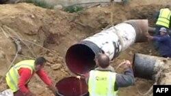 Një depo e re shton ujin e pijshëm në kryeqytetin shqiptar