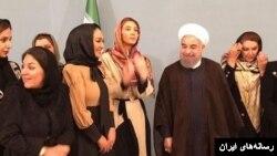 آقای روحانی در زمان انتخابات از حمایت زنان برخوردار بود.
