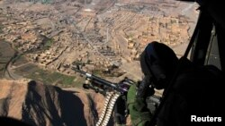헬기 공습을 가하고 있는 파키스탄 군 (자료사진)