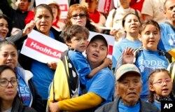 지난 5월 미국 캘리포니아주 새크라멘토에서 '이민자 행동의 날' 행사가 열렸다.