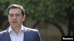 希腊总理齐普拉斯(2015年7月6日)