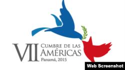 Logo de la Cumbre de las Américas a realizarse en 2015 en Panamá.