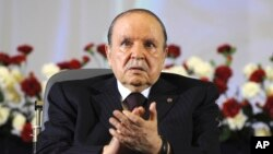 "FILE - Algerian President Abdelaziz Bouteflika ordered the prosecutor in the Ghardaia region to follow all lawbreakers ""with diligence and severity,'' a statement from his office said."