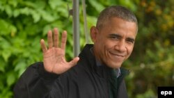 Tổng thống Obama bắt đầu hành trình ngàn dặm tới Việt Nam