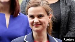 Jo Cox, a member of the British Parliament, was murdered Thursday.