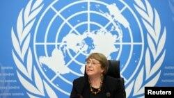 Birleşmiş Milletler İnsan Hakları Yüksek Komiseri Michelle Bachelet