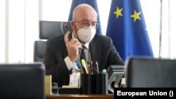Шарль Мішель, президент Європейської ради - керівного органу Європейського Союзу.