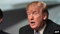 Le président américain Donald Trump à Saint-Louis, le 14 mars 2018.