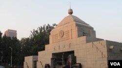 天津大學校門 (美國之音拍攝)