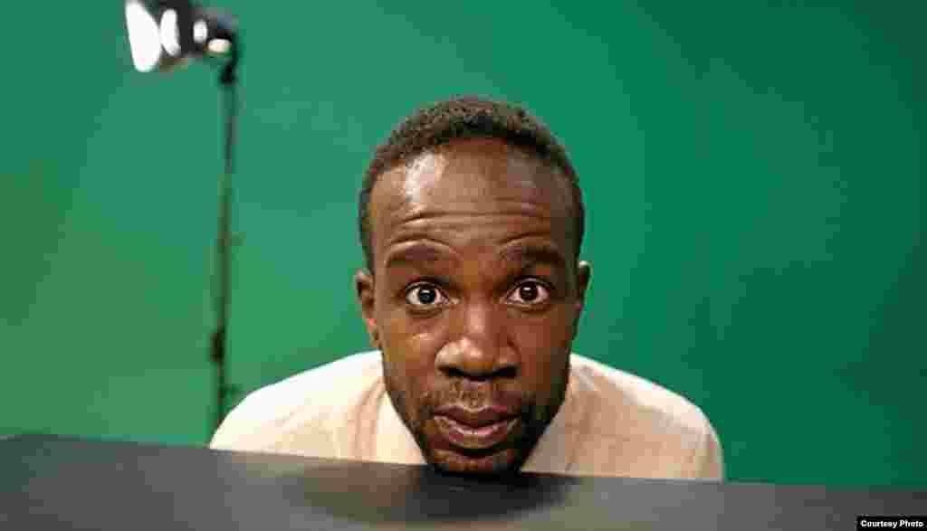 Kibuuka says he's an observer, and an outsider, wherever he goes. (Courtesy D. Kibuuka)