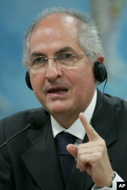 Antonio Ledezma, ex alcalde de Caracas.