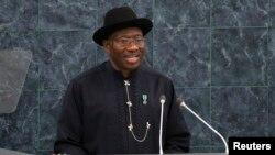 Presidente nigeriano, Goodluck Jonathan