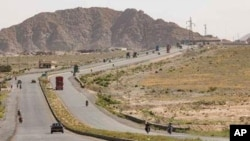 The United States, through the U.S. Agency for International Development, or USAID, funded the construction of the 111 kilometers needed to complete National Highway 25, in cooperation with the Frontier Works Organization, the prime contractor, and the National Highway Authority.