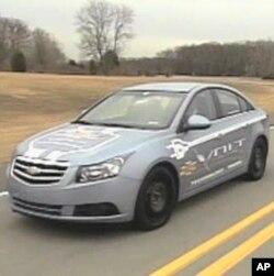 Batareya ilə işləyən Chevrolet Volt