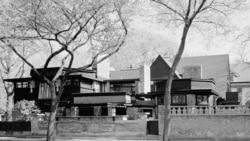 Frank Lloyd Wright's home in Oak Park, Illinois