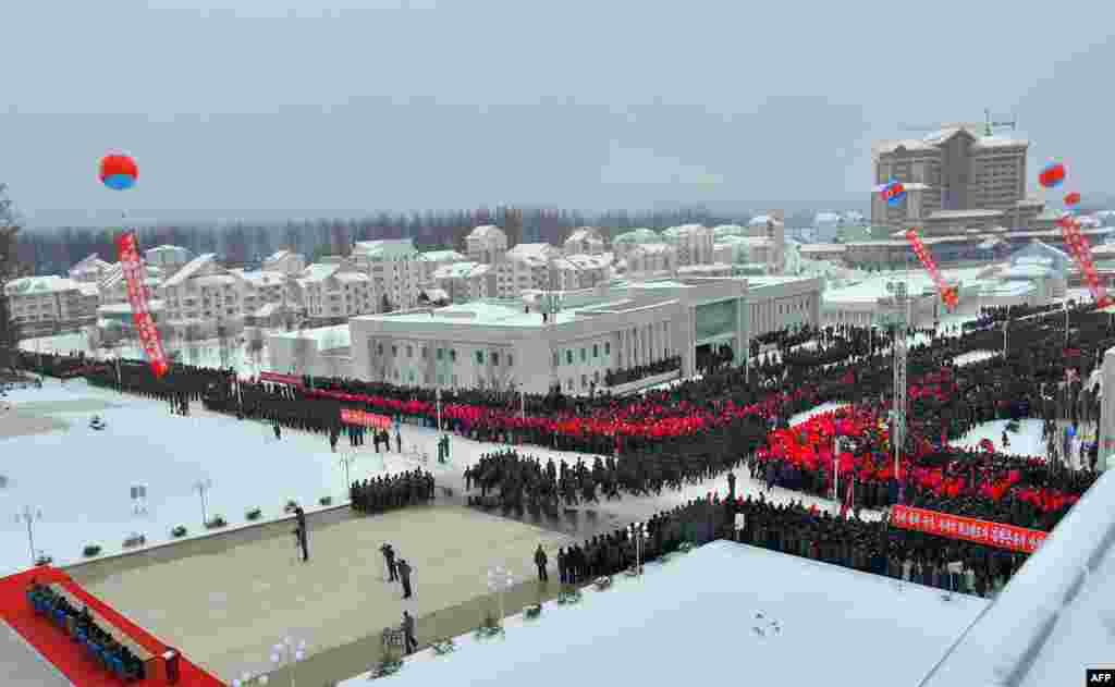 نئے شہر میں ایک میوزیم بھی بنایا گیا ہے جہاں شمالی کوریا میں کمیونسٹ انقلاب سے متعلق تاریخی چیزیں موجود ہیں۔