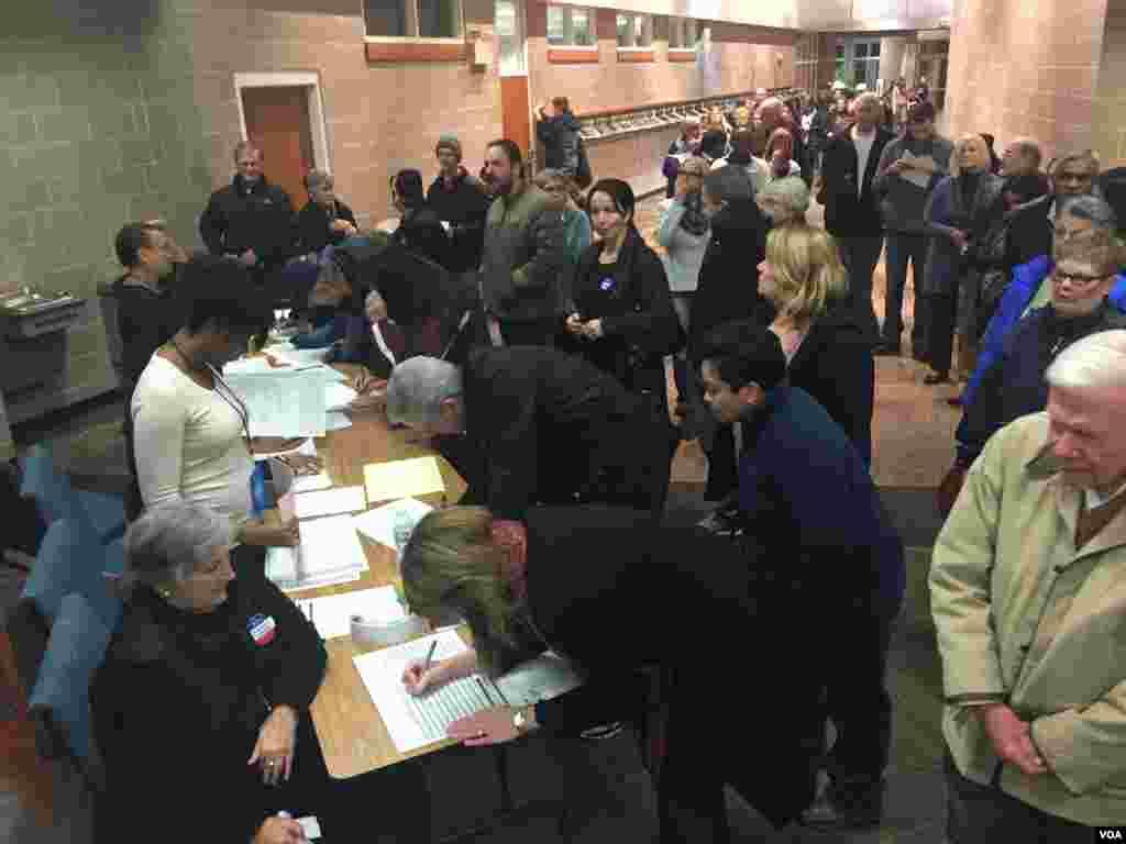 民主党选民登记投票