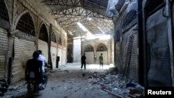 Privatne prodavnice u Homsu oštećene u nedavnim borbama