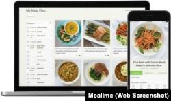 Mealime app