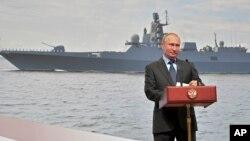 Виступ Путіна у Санкт-Петербурзі