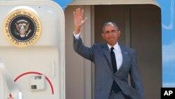 奧巴馬總統星期二抵達馬尼拉。