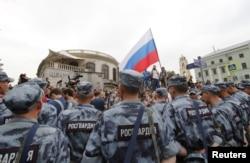 Policia, Moscovo