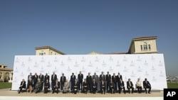 工業八國集團討論向中東北非提供援助。