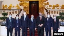Ngoại trưởng Mỹ Mike Pompeo thăm Hà Nội, ngày 30/10/2020.