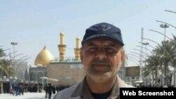 تصویر جاسم نوری که در خبرگزاری مهر منتشر شده است