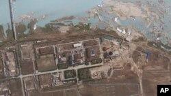 卫星图像显示的宁边核设施地带(资料照)