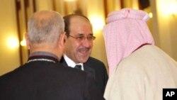 Serokwezîrê Îraqî Nûrî El Malikî li Musilê.