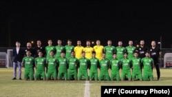 اعضای تیم ملی فوتبال امید افغانستان