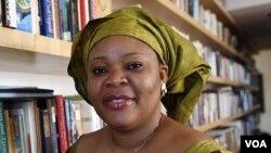Aktivis perempuan Liberia, Leymah Gbowee (39 tahun) mengaku sangat bergembira dianugerahi Nobel Perdamaian.