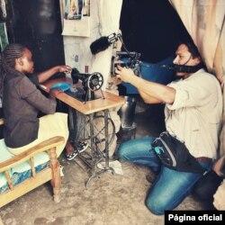 Equipa de Pedro Marcelino - Cabo-verdiano analista político e cineasta, no Canadá, grava no Quénia