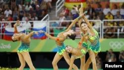 西方通讯社拍摄的里约奥运会中国选手(37图)