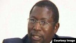 Renewal Democrats of Zimbabwe leader Elton Mangoma.