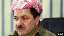 Presiden Kurdistan Masoud Barzani (Foto: dok). Kurdistan adalah sebuah wilayah semi-otonomi di bagian utara Irak yang dihuni oleh etnis Kurdi.