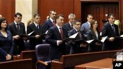 Изгласан новиот состав на Владата на Македонија