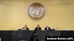 O presidente da Nigéria Goodluck Jonathan apelou aos membros da ONU para que intensifiquem o combate ao terrorismo no continente africano.