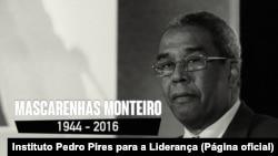 António Mascarenhas Monteiro, antigo Presidente de Cabo Verde, 1944-2016