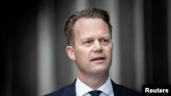 Ngoại trưởng Đan Mạch Jeppe Kofod cập nhật hàng tuần về tình hình COVID-19.