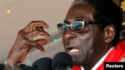 Zimbabwe's President Robert Mugabe, Mar. 2, 2013.